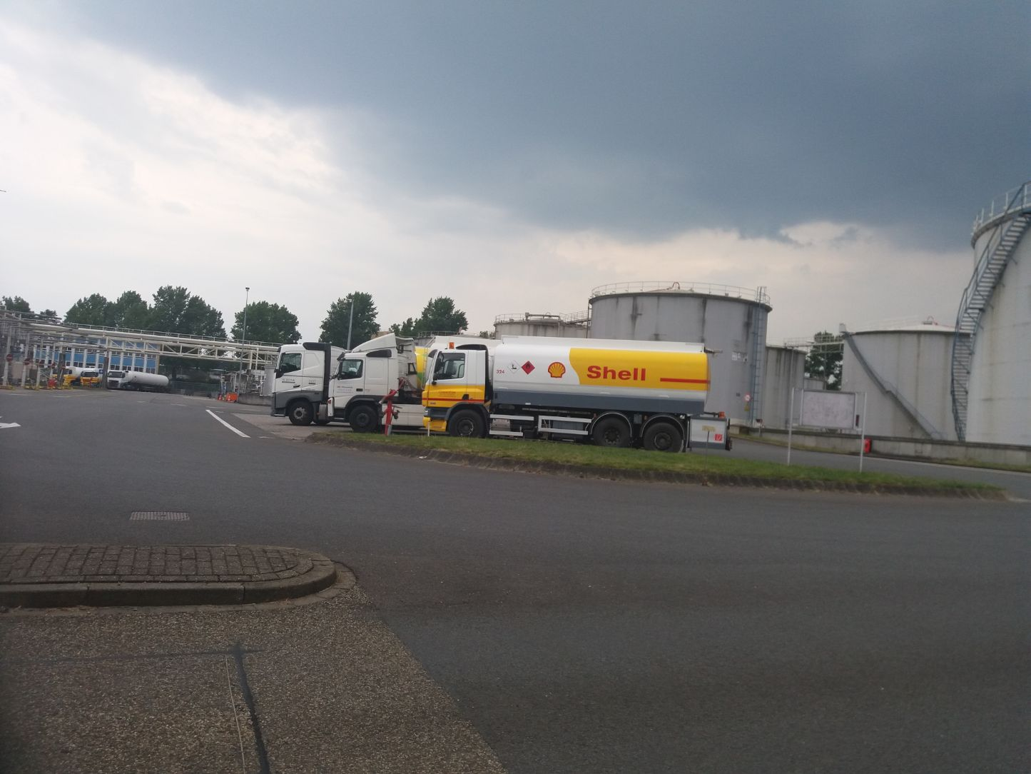 Royal Dutch Shell-Arnhem olieopslag