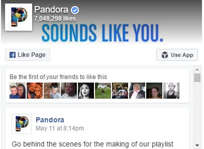 Aandeel Pandora Media Inc: koersen, rendementen   Analist nl